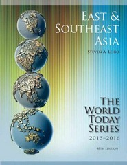 East and Southeast Asia 2015-2016 48th Edition 9781475818741 1475818742