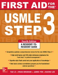 First Aid for the USMLE Step 3, Fourth Edition 4th Edition 9780071814553 0071814558
