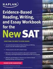 Kaplan Evidence-Based Reading, Writing, and Essay Workbook for the New SAT 1st Edition 9781625231574 1625231571