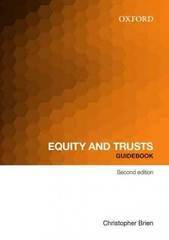Equity and Trust Guidebook 2nd Edition 9780195594027 0195594029