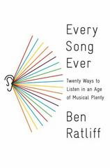 Every Song Ever 1st Edition 9780374277901 0374277907