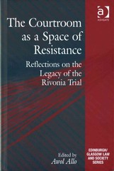 The Courtroom as a Space of Resistance 1st Edition 9781317037125 131703712X