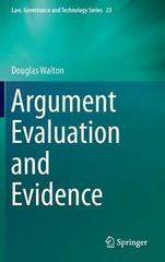 Argument Evaluation and Evidence 1st Edition 9783319196268 331919626X