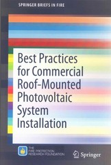 Best Practices for Commercial Roof-Mounted Photovoltaic System Installation 1st Edition 9781493928835 149392883X