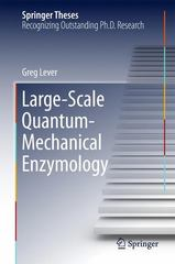 Large-Scale Quantum-Mechanical Enzymology 1st Edition 9783319193519 3319193511