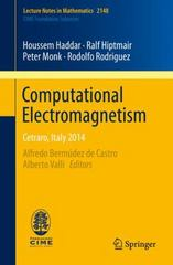 Computational Electromagnetism 1st Edition 9783319193069 3319193066