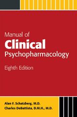 Manual of Clinical Psychopharmacology 8th Edition 9781585625215 1585625213