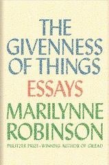 The Givenness Of Things 1st Edition 9781443446051 144344605X