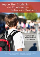 Supporting Students with Emotional and Behavioral Problems 1st Edition 9781598578065 1598578065