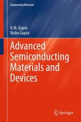 Advanced Semiconducting Materials and Devices 1st Edition 9783319197579 3319197576
