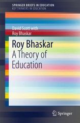 Roy Bhaskar 1st Edition 9783319198361 331919836X