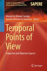 Temporal Points of View 1st Edition 9783319198156 3319198157
