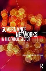 Governance Networks in the Public Sector 1st Edition 9780415707015 0415707013