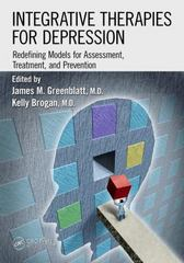 Integrative Therapies for Depression 1st Edition 9781498702294 1498702295