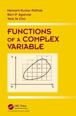 Functions of a Complex Variable 1st Edition 9781498720151 1498720153