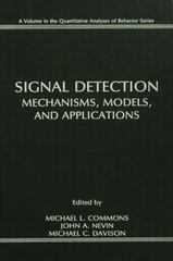 Signal Detection 1st Edition 9781138876187 1138876186