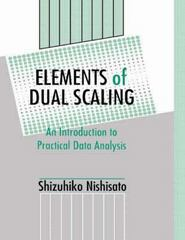 Elements of Dual Scaling 1st Edition 9781138876323 1138876321