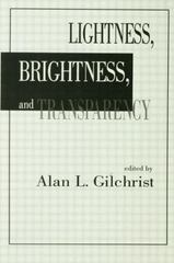 Lightness, Brightness and Transparency 1st Edition 9781138876170 1138876178