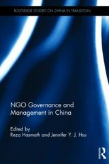 NGO Governance and Management in China 1st Edition 9781138909977 1138909971
