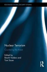 Nuclear Terrorism 1st Edition 9781317395195 1317395190
