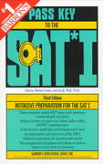Pass Key to the SAT I 3rd edition 9780764104497 0764104497