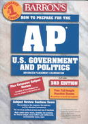 How to Prepare for the AP U. S. Government and Politics Advanced Placement Examination 3rd edition 9780764116513 0764116517