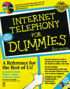 Internet Telephony for Dummies 2nd edition 9780764501746 0764501747