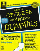 Microsoft Office 98 for Macs for Dummies 0 9780764502293 0764502298