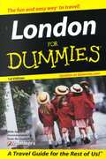 London For Dummies 1st edition 9780764561948 0764561944