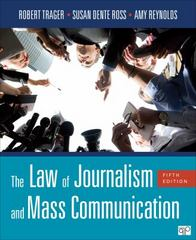 The Law of Journalism and Mass Communication 5th Edition 9781506303413 1506303412