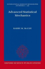 Advanced Statistical Mechanics 1st Edition 9780198744269 0198744269