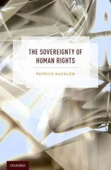 The Sovereignty of Human Rights 1st Edition 9780190267315 0190267313