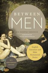 Between Men 30th Edition 9780231176293 0231176295