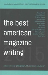 The Best American Magazine Writing 2015 1st Edition 9780231169592 0231169590