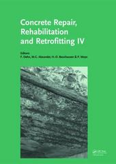 Concrete Repair, Rehabilitation and Retrofitting IV 1st Edition 9781138028432 1138028436