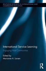 International Service Learning 1st Edition 9781317554585 1317554582