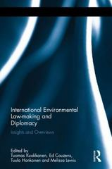 International Environmental Law-making and Diplomacy 1st Edition 9781317530251 131753025X