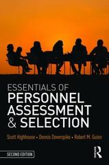 Essentials of Personnel Assessment and Selection 2nd Edition 9781138914599 1138914592