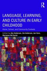 Language, Learning, and Culture in Early Childhood 1st Edition 9781138920835 1138920835