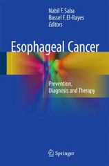 Esophageal Cancer 1st Edition 9783319200682 3319200682