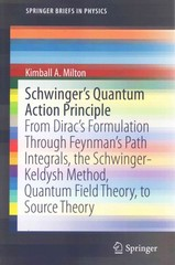 Schwinger's Quantum Action Principle 1st Edition 9783319201276 3319201271