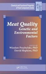 Meat Quality 1st Edition 9781482220315 1482220318