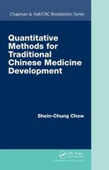 Quantitative Methods for Traditional Chinese Medicine Development 1st Edition 9781482235999 1482235994