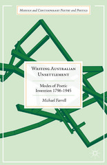 Writing Australian Unsettlement 1st Edition 9781137465412 1137465417