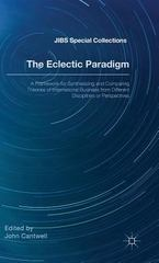 The Eclectic Paradigm 1st Edition 9781137544698 1137544694