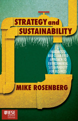 Strategy and Sustainability 1st Edition 9781137501752 1137501758