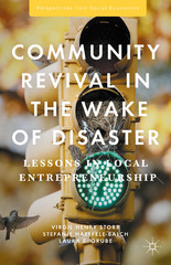 Community Revival in the Wake of Disaster 1st Edition 9781137559715 1137559713