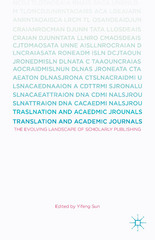 Translation and Academic Journals 1st Edition 9781137522085 1137522089