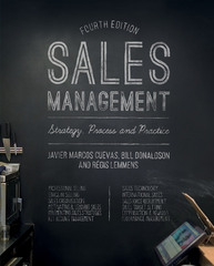 Sales Management 4th Edition 9781137355102 1137355107