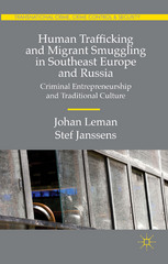 Human Trafficking and Migrant Smuggling in Southeast Europe and Russia 1st Edition 9781137543639 1137543639